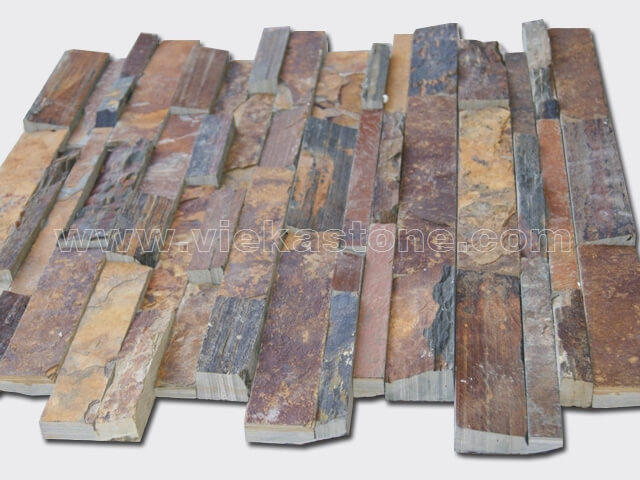 Rusty Slate Brown Ledgestone Veneer LP002-4