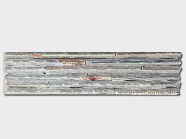 Rusty Slate Stone Panels Wall Cladding Mountain Rectangle Shape 1