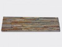 Rusty Slate Stone Panels Wall Cladding Waterfall Rectangle Shape 1