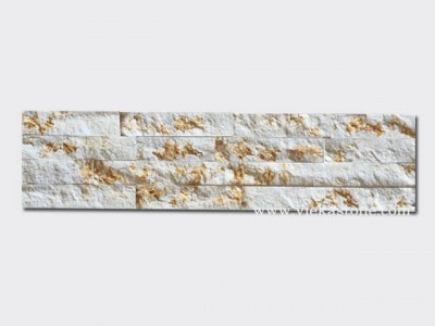 Sunny Beige Marble Stone Panels Wall Cladding Rectangle Shape 1