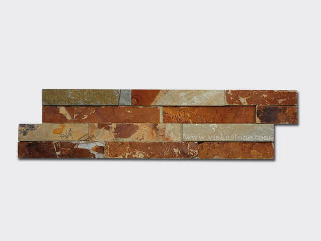 yellow clay culture stone wall panel s shape 1