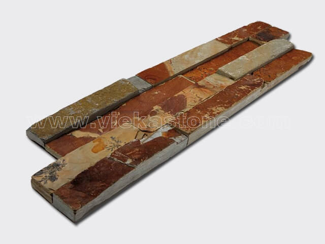 yellow clay culture stone wall panel s shape 2