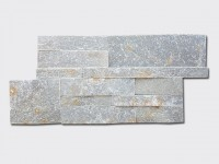 green slate culture stone wall panels 35x18cm.