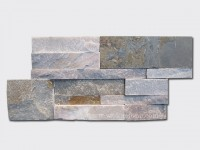 mixed yellow slate culture stone wall panel 35x18cm 1