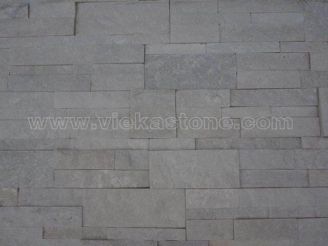 snow white quartz culture stone wall panel 35x18cm 2