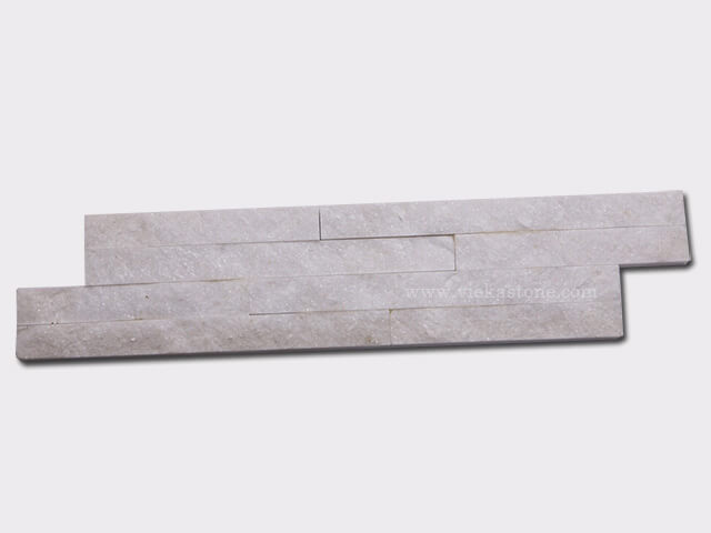 snow white quartz culture stone wall panel s shape