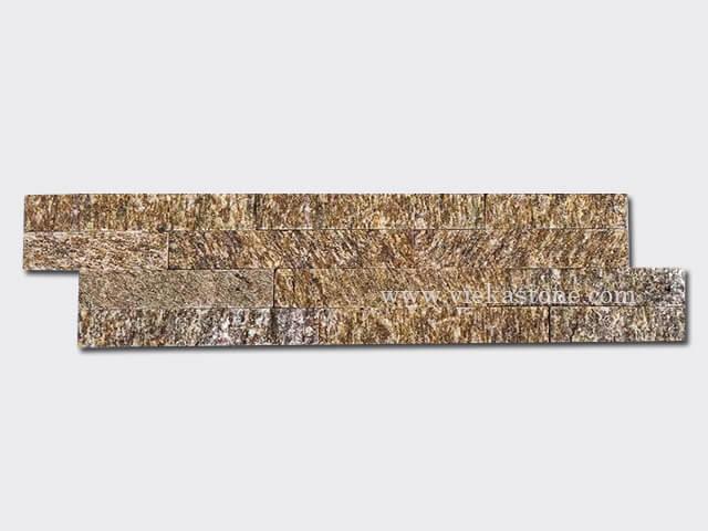 tiger skin yellow Stone Cladding Wall Panels z shape 1